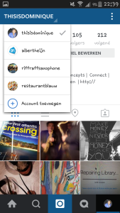 Instagram meer accounts
